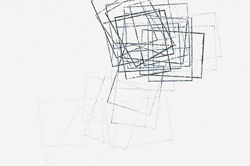 Uncut#2 Detail, Drawing by Nelleke Beltjens