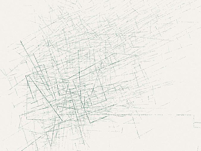 Shift #2 Detail Drawing by Nelleke Beltjens
