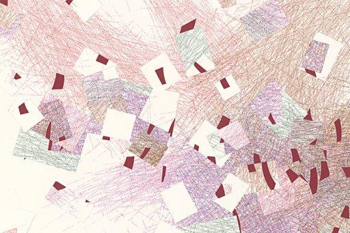 irresistible non-solution #10 Detail Drawing by Nelleke Beltjens