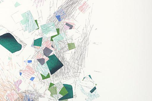 breaking beyond the difference #4 Detail Drawing by Nelleke Beltjens