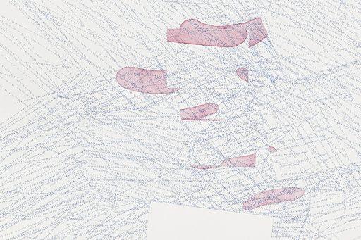 evolve #3 Detail Drawing by Nelleke Beltjens