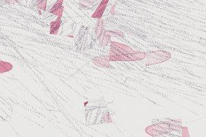 It alsways (dis)appears #6 Detail Drawing by Nelleke Beltjens