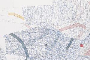 Road to Travel #1 Detail (2018) Drawing by Nelleke Beltjens