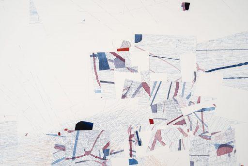 Just Now Detail 1 Drawing by Nelleke Beltjens