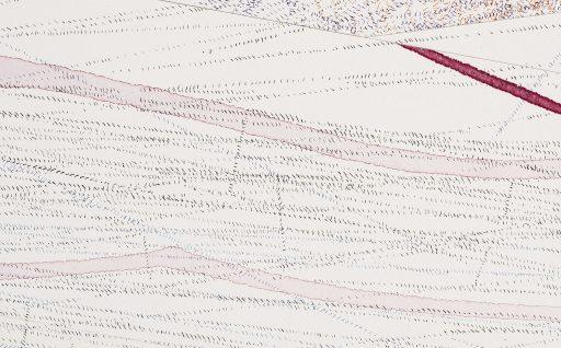 Just Now Detail 3 Drawing by Nelleke Beltjens